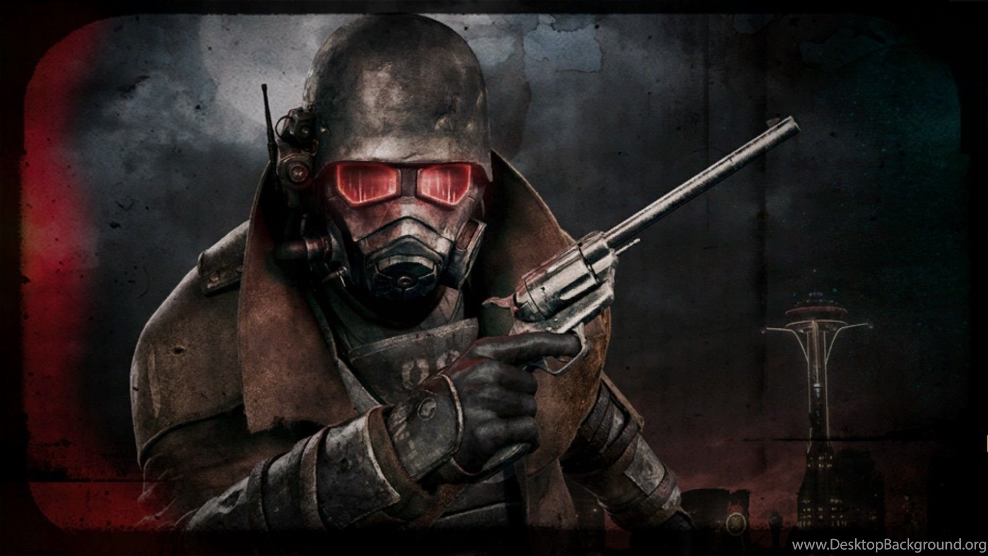 Fallout New Vegas Ranger Armor Wallpaper Desktop Background