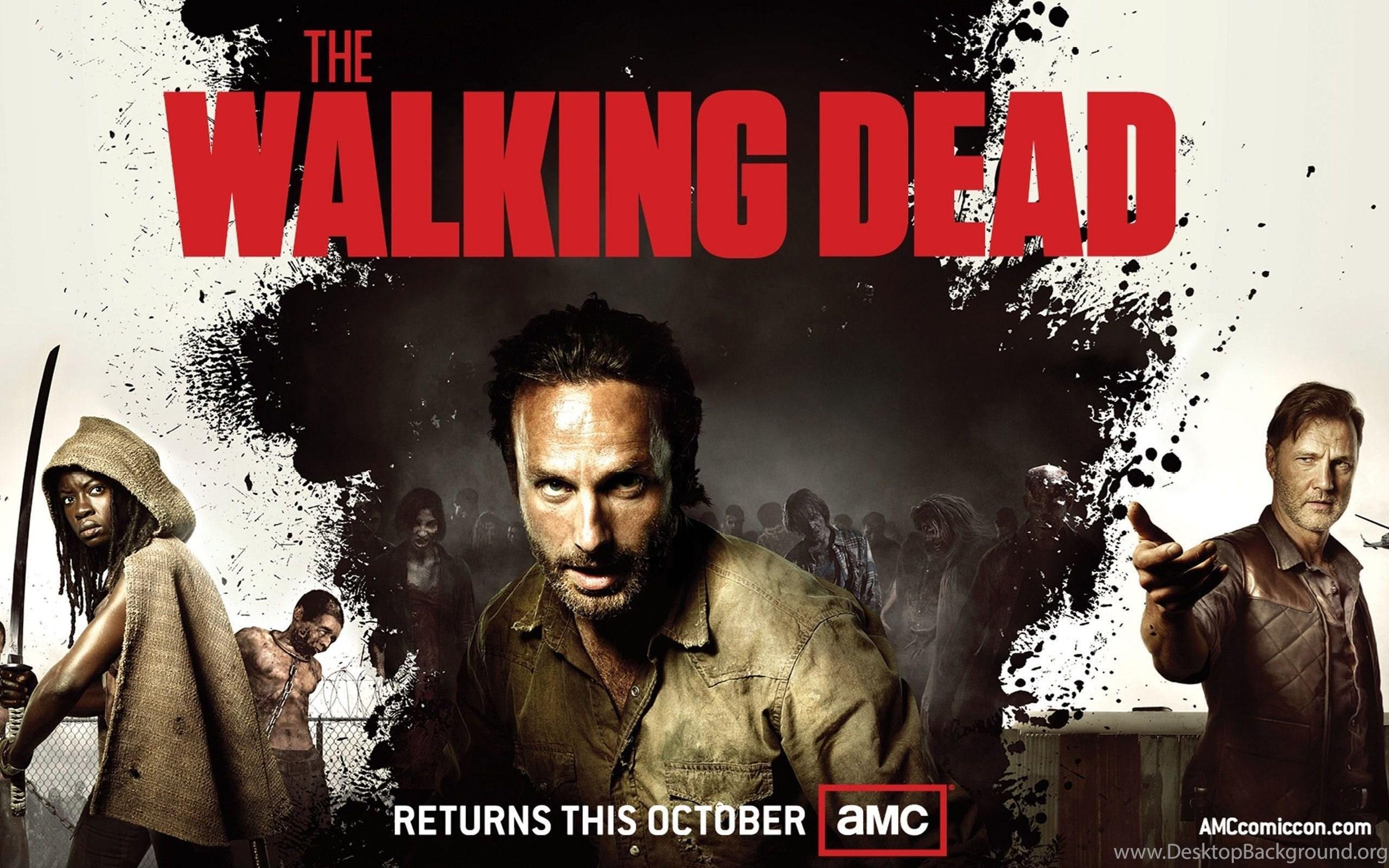 The Walking Dead Season 3 Hd Wide Wallpapers For Desktop Iphone