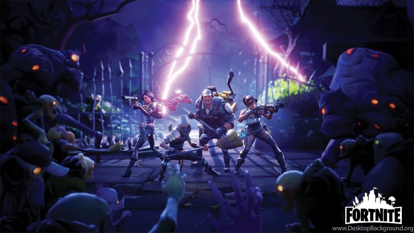 Epic Games Fortnite Desktop Background
