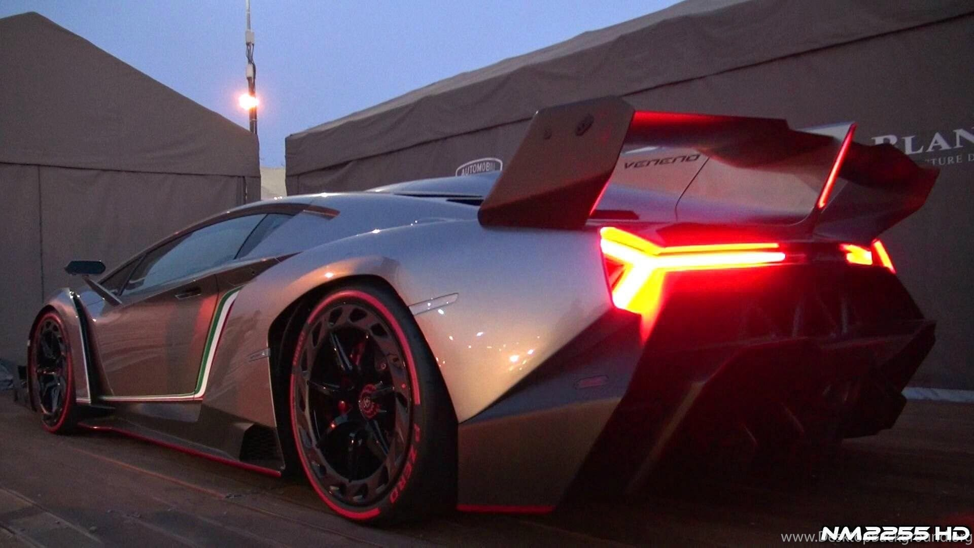 Lamborghini Veneno Sound Start Up And Revs Youtube Desktop Background