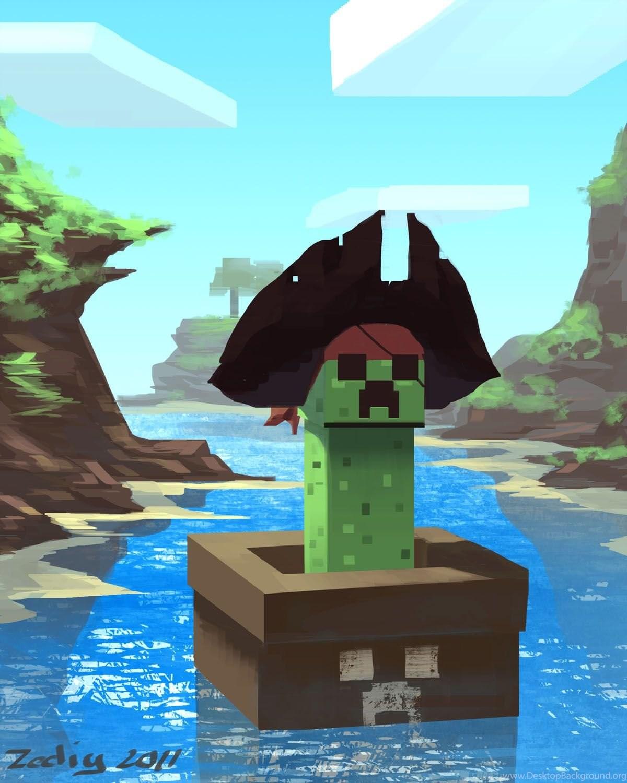 майнкрафт пираты #1