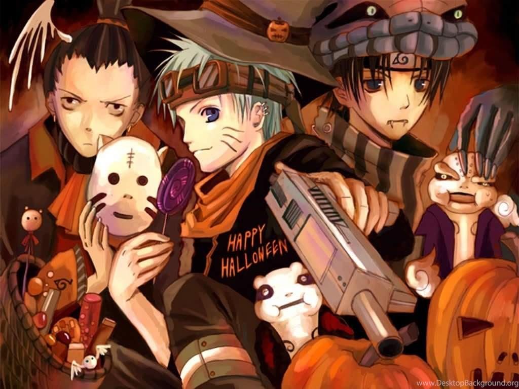 Download Anime Halloween Wallpapers Desktop Background