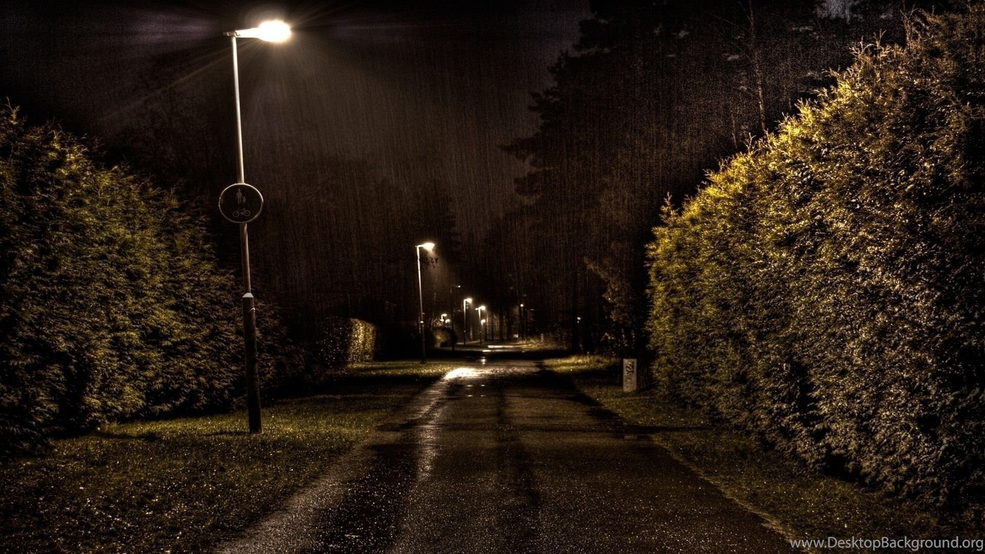 Gallery for night rain wallpapers hd desktop background - Rainy hd wallpaper for pc ...