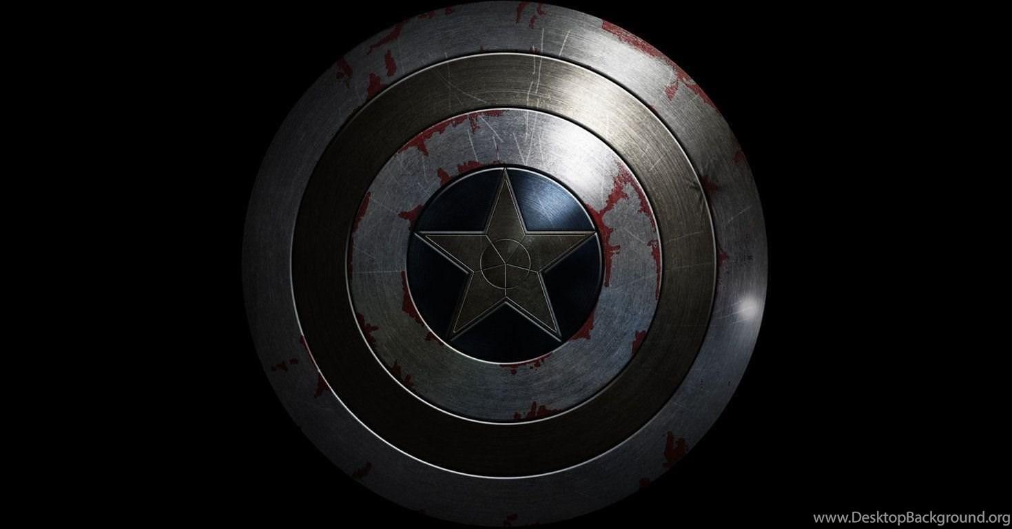 Captain America Shield Hd Wallpaper Jpg Desktop Background