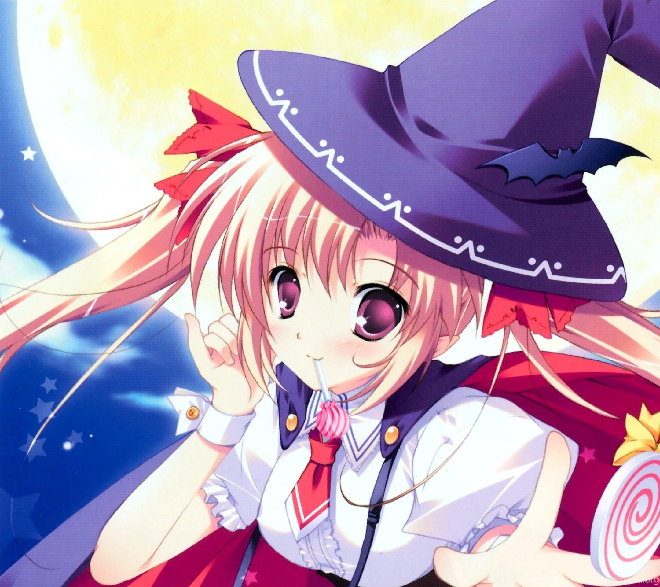 Anime Halloween 13 Android Wallpaper 2160x19 5 Jpg Desktop Background