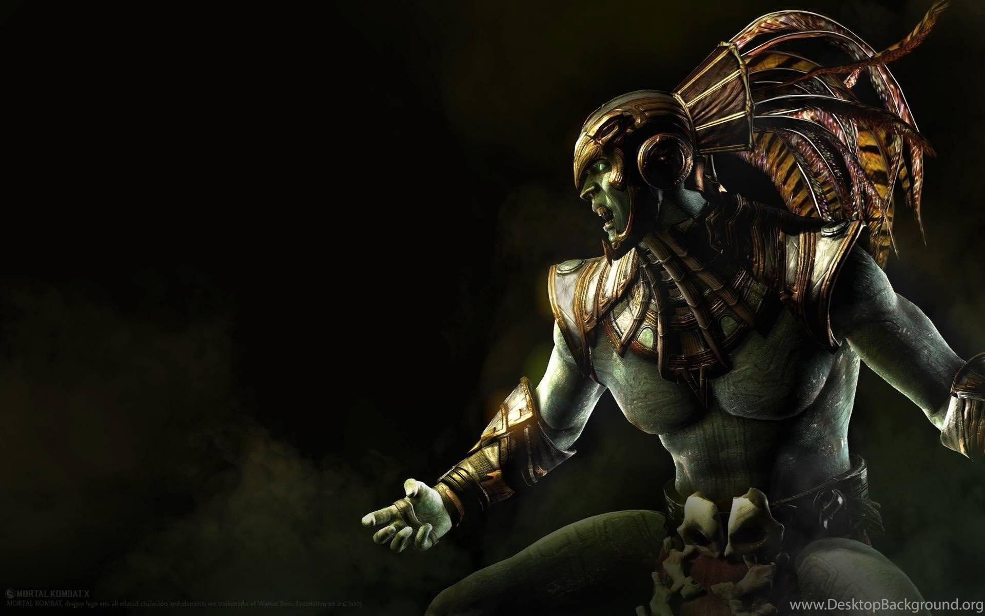 Monster Mortal Kombat X Wallpapers Hd Desktop Background