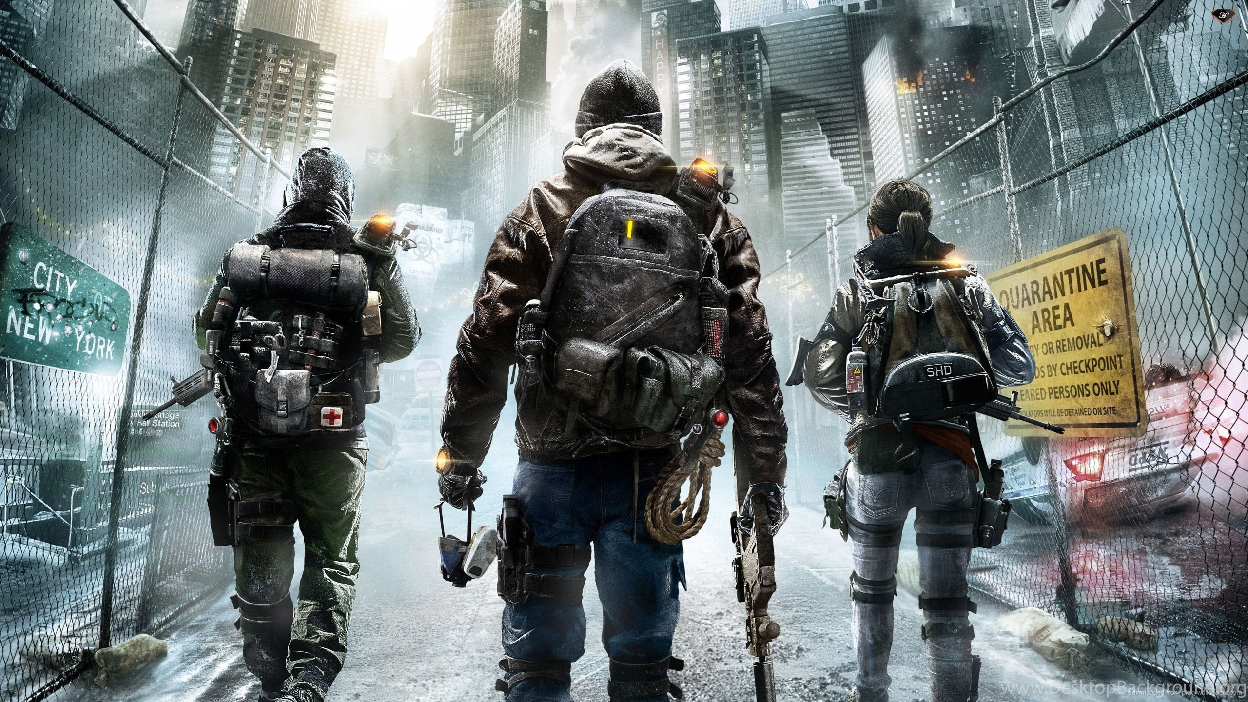Download 2560x1440 Tom Clancys The Division Video Game