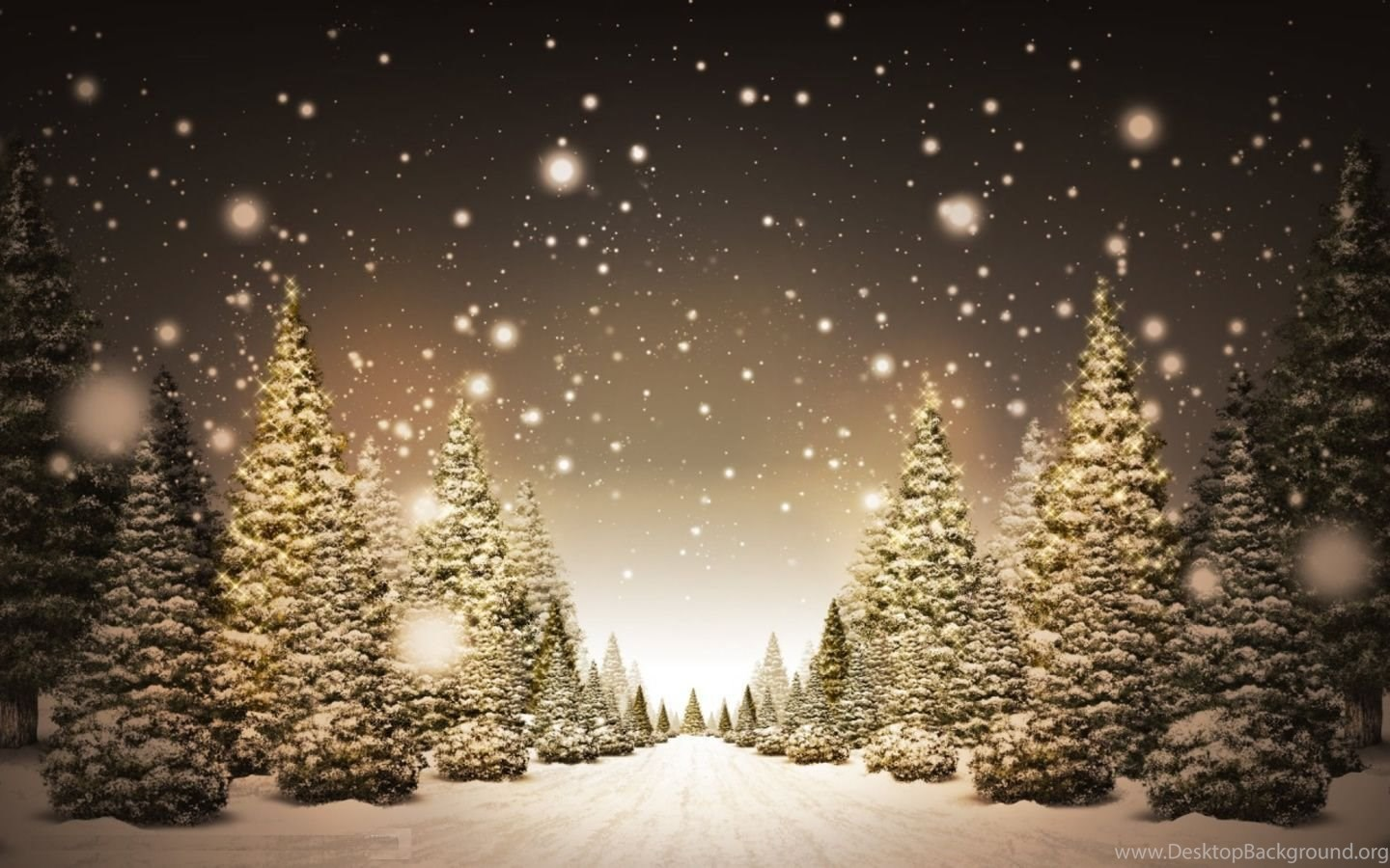 free christmas screensavers desktop background