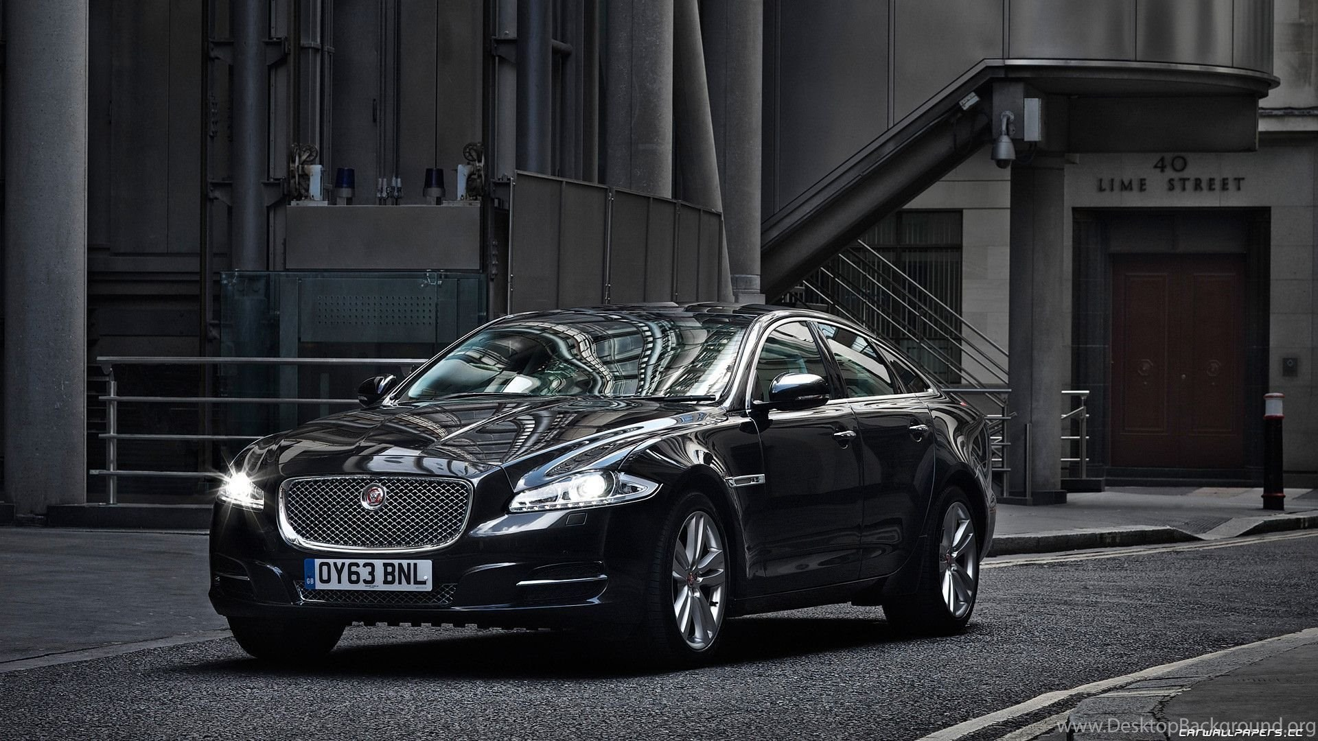Black Jaguar Xf Wallpapers Image Desktop Background