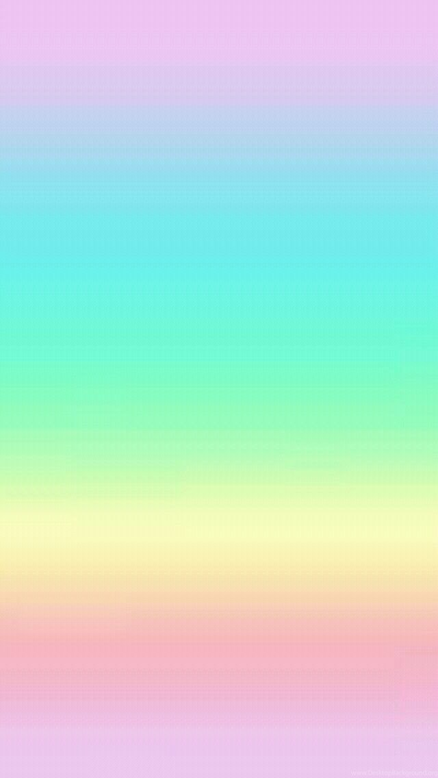 Minimalist Lockscreen Rainbow Wallpaper Iphone