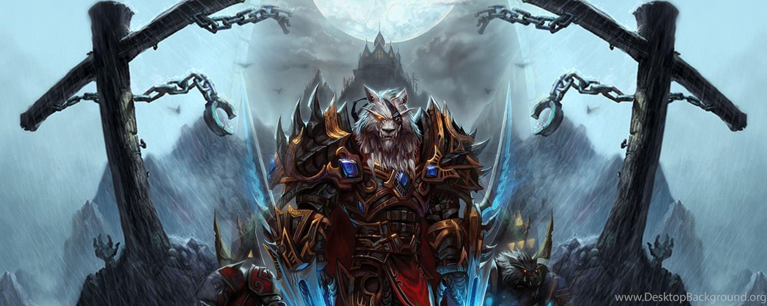 Dual Monitor Resolution World Of Warcraft Wallpapers Hd Desktop