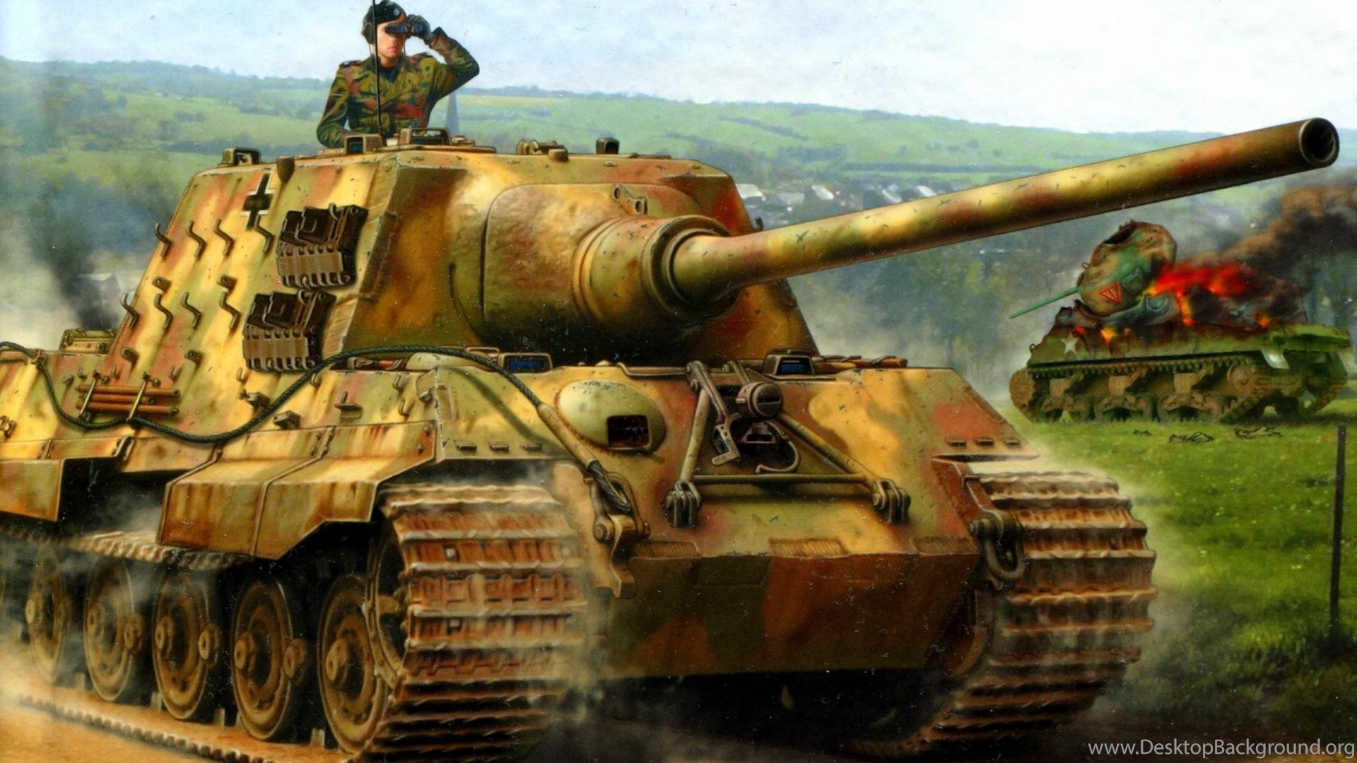 Tiger Tank Wallpapers All New Desktop Background