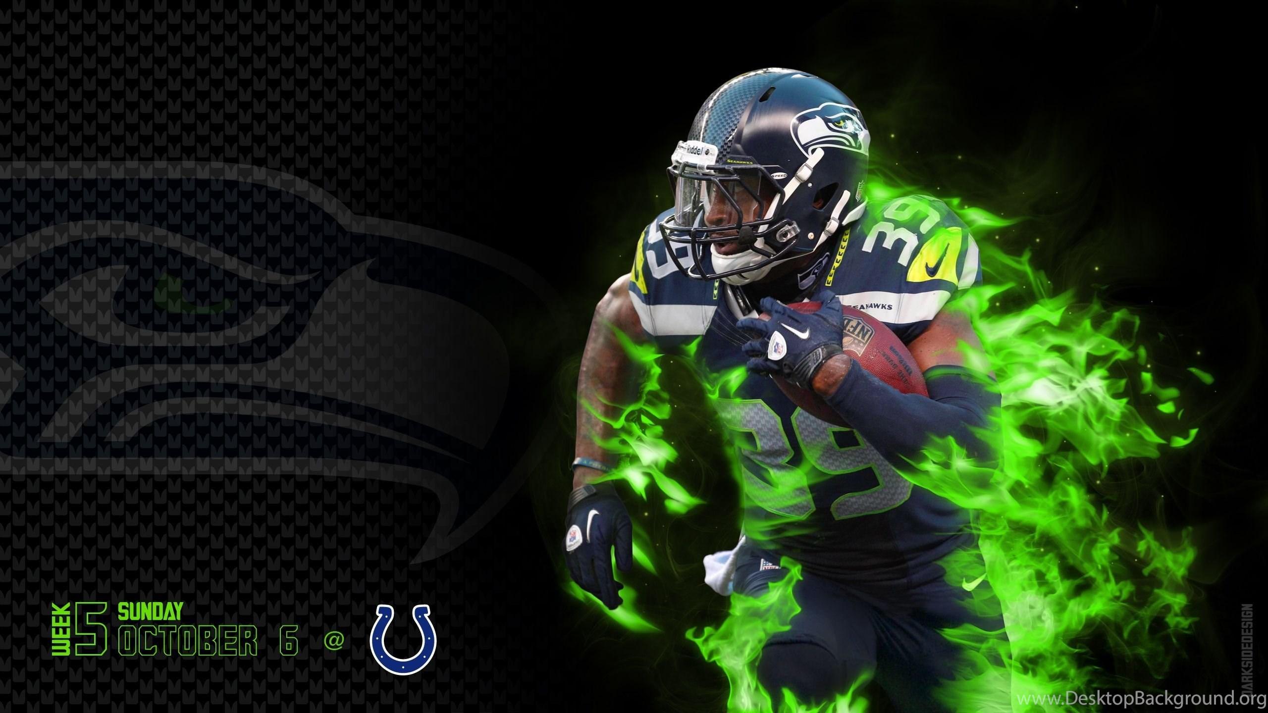 Seattle Seahawks Nfl Football F Wallpapers Desktop Background