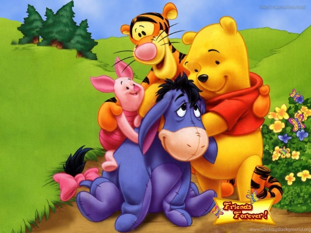 Winnie The Pooh And Friends Cartoon Hd Wallpapers For Ipod