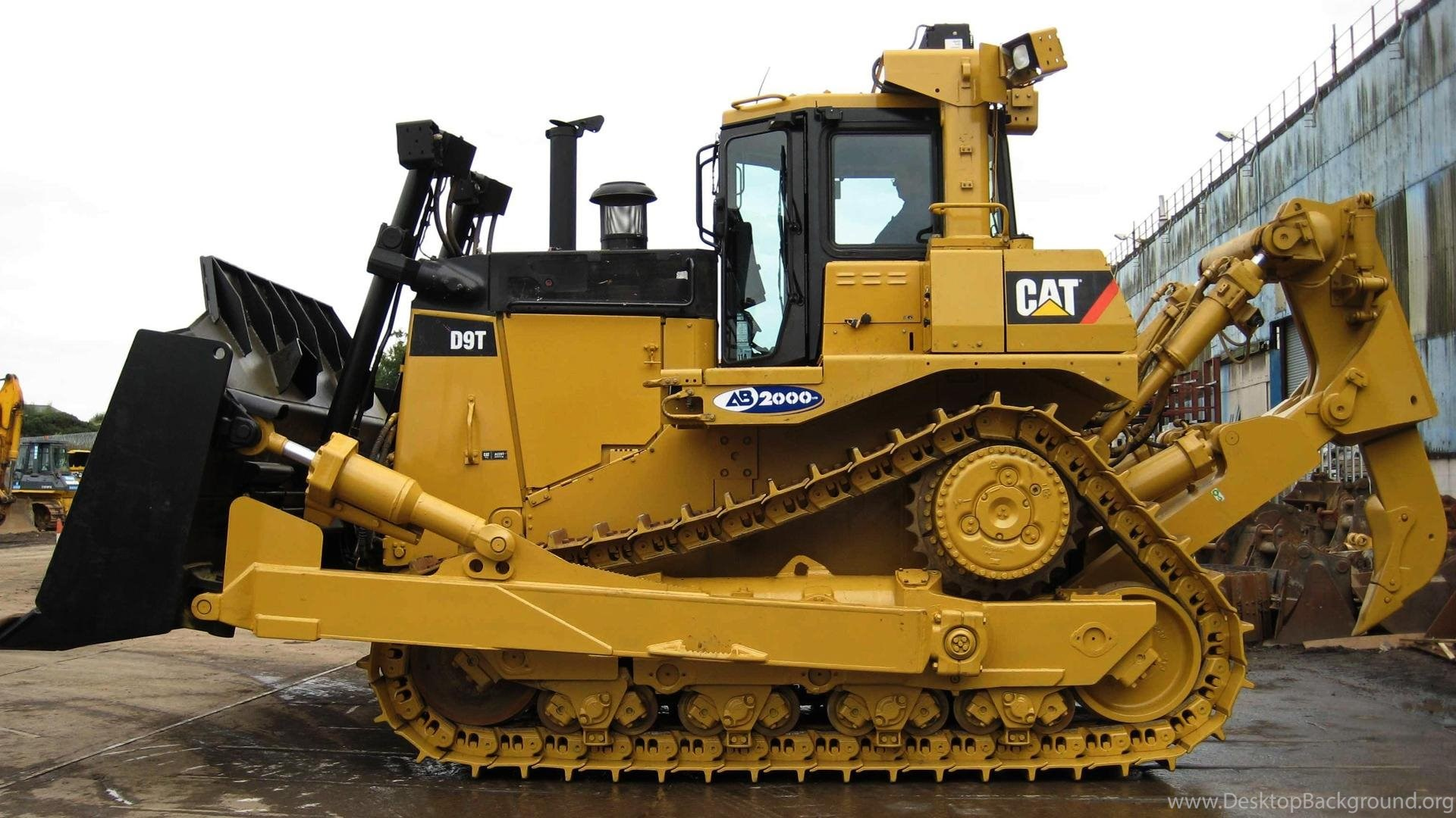 Caterpillar D9t Hd Wallpaper Get It Now Desktop Background