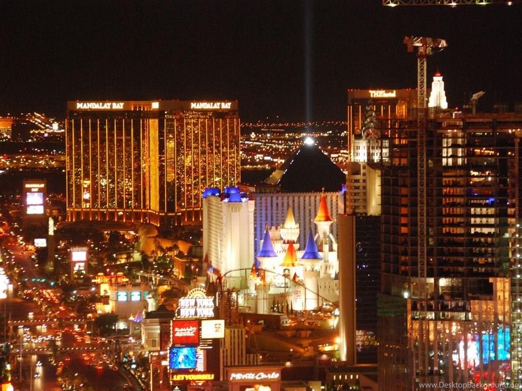 Las Vegas Strip Night Hd Wallpapers Desktop Background