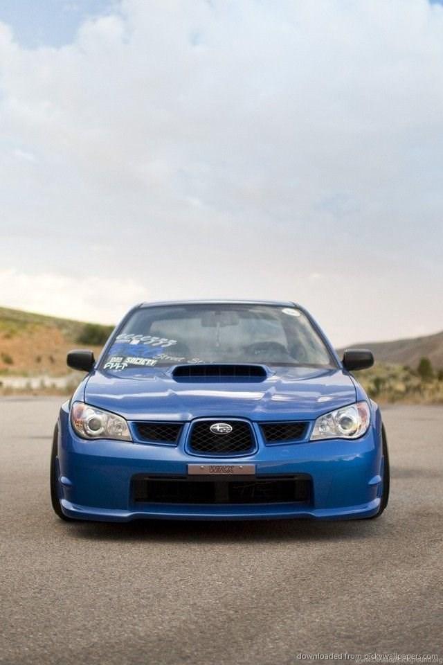 Subaru Impreza Wrx Sti Iphone Wallpapers Desktop Background