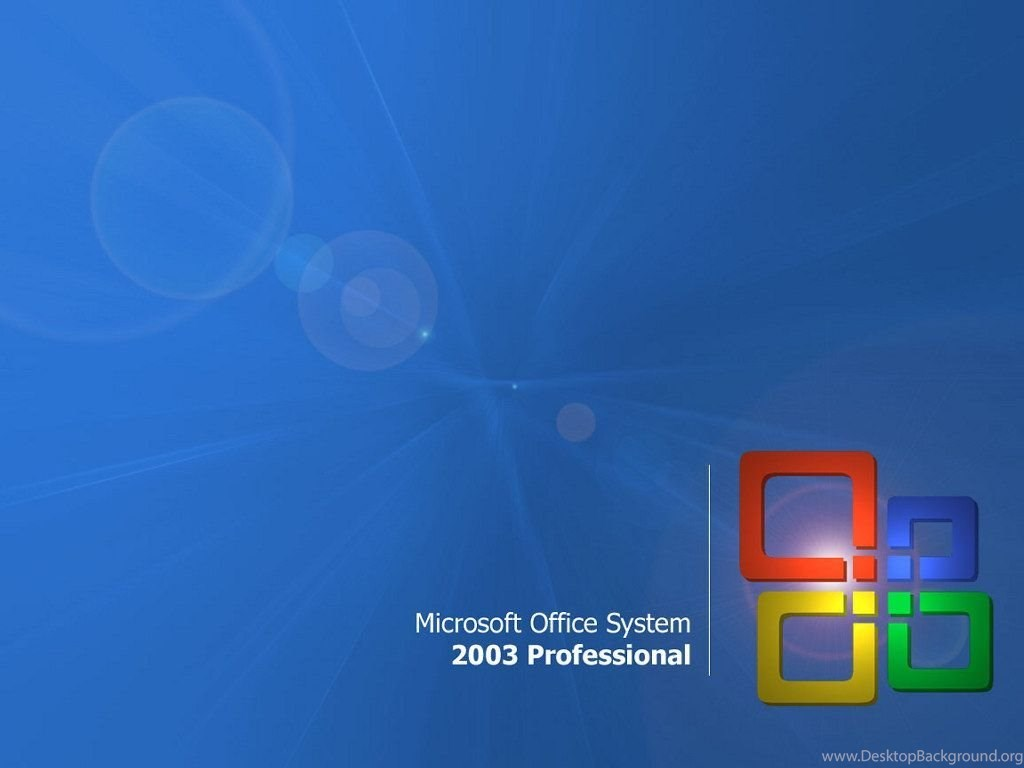 My Free Wallpapers Abstract Wallpapers : Microsoft Office 2003