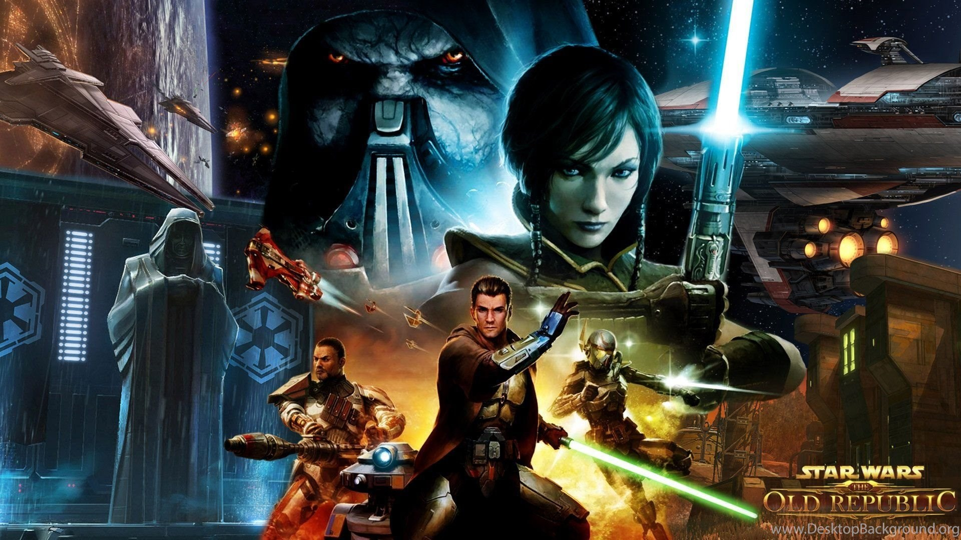 Star Wars The Old Republic Download Wallpapers Walldevil Best Desktop Background