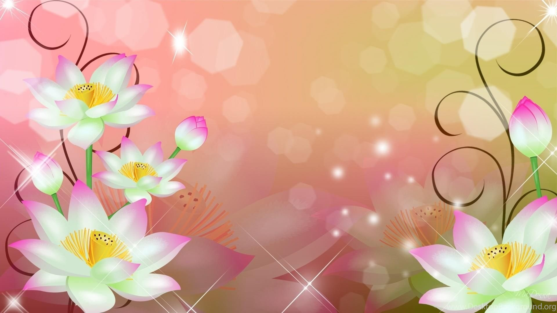 Abstract Flowers Wallpapers Desktop Background