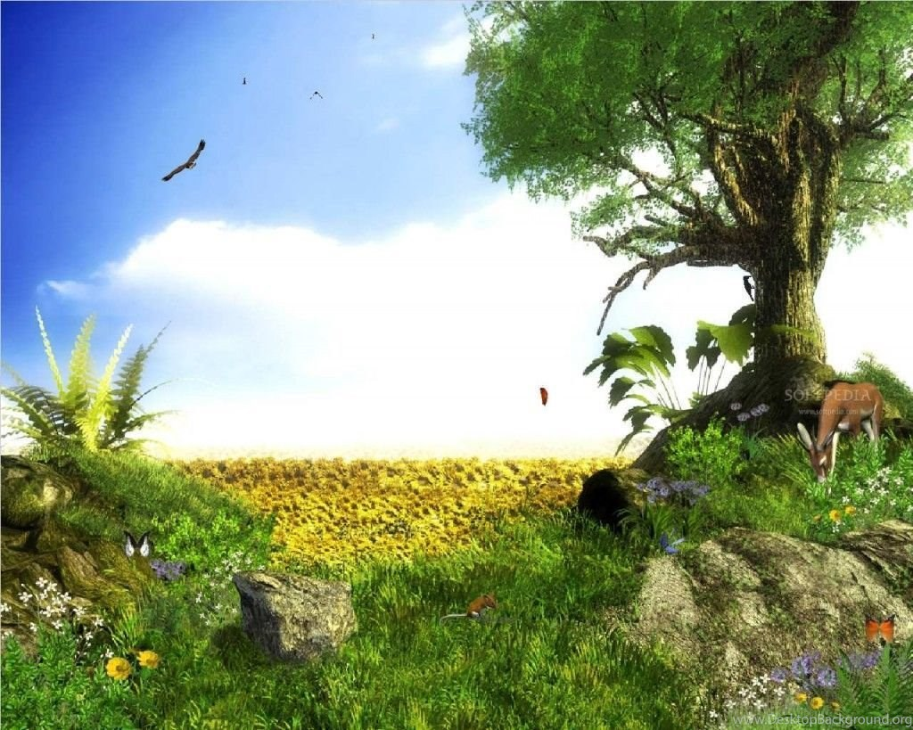 7 PC 3d Nature Wallpapers Free Download For Windows Hd Desktop Background
