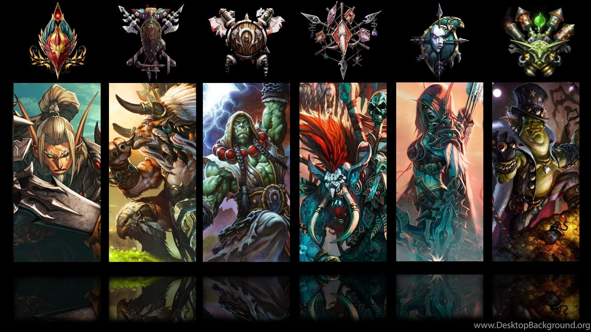 World Of Warcraft Bunch Of Animated Wallpapers Gamegetaway