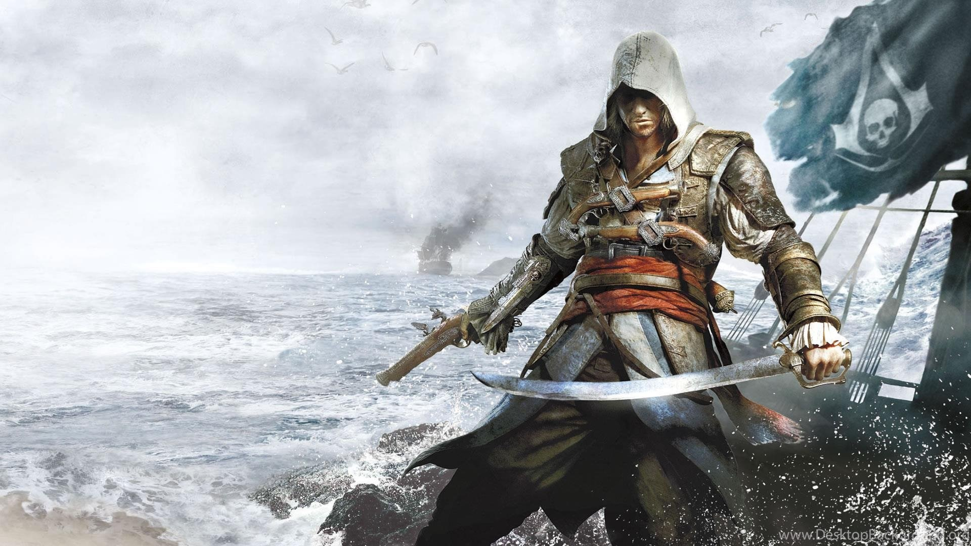 Assassins creed iv black flag hd wallpapers and images free new popular voltagebd Image collections