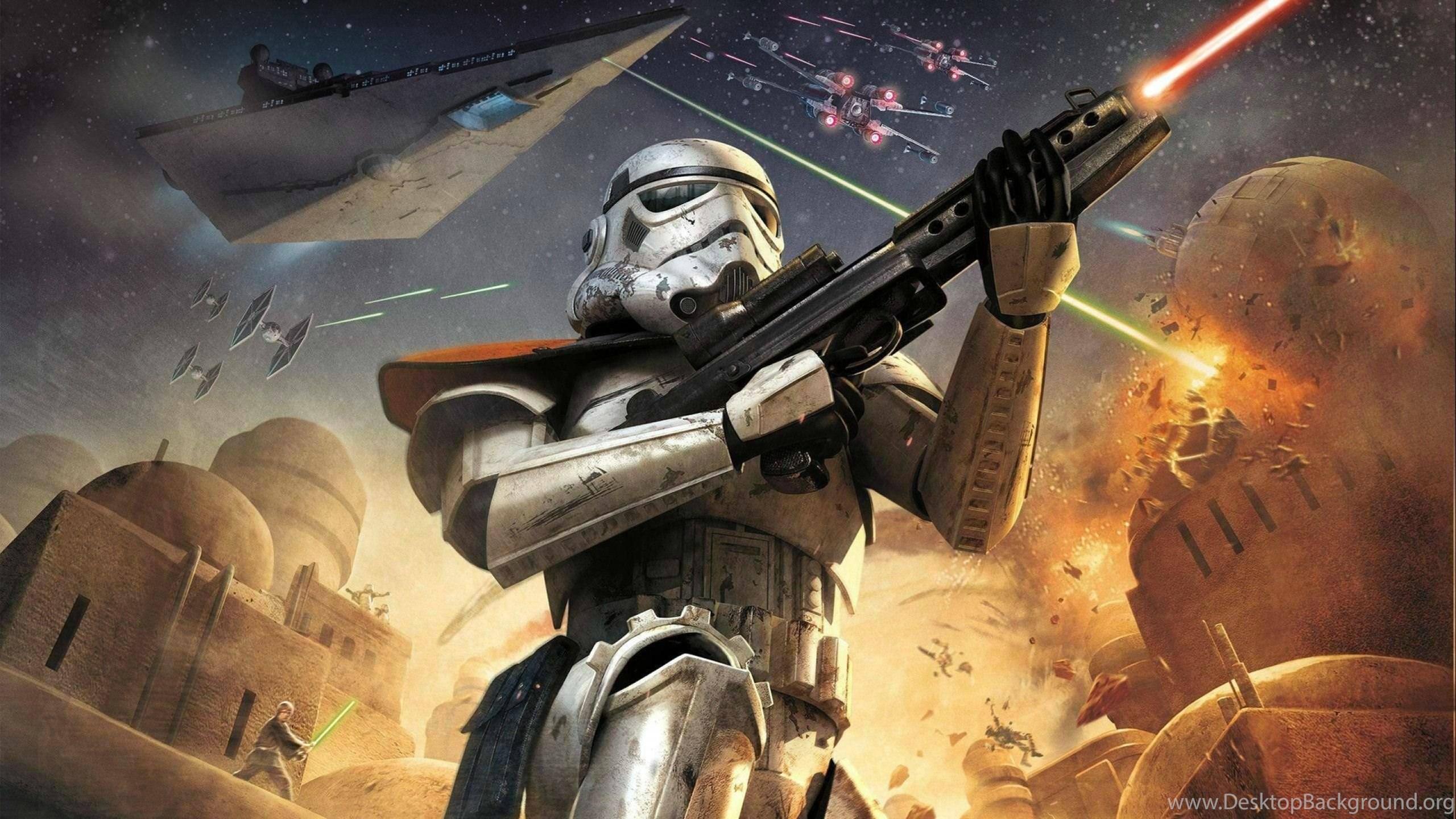 Star Wars Battlefront Sci Fi Fps Shooter Action 1swbattlefront Desktop Background