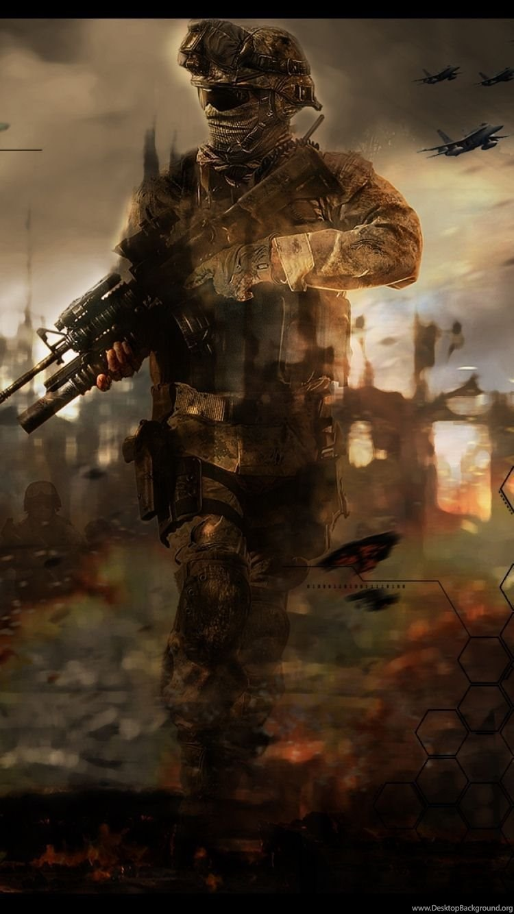 Iphone 6 Call Of Duty Modern Warfare 2 Wallpapers Hd Desktop