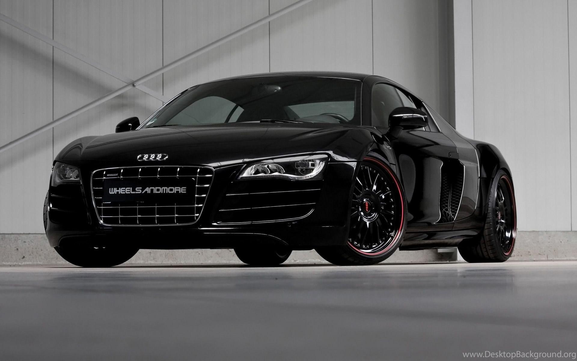 Audi R8 Matte Black Wallpapers Image Desktop Background