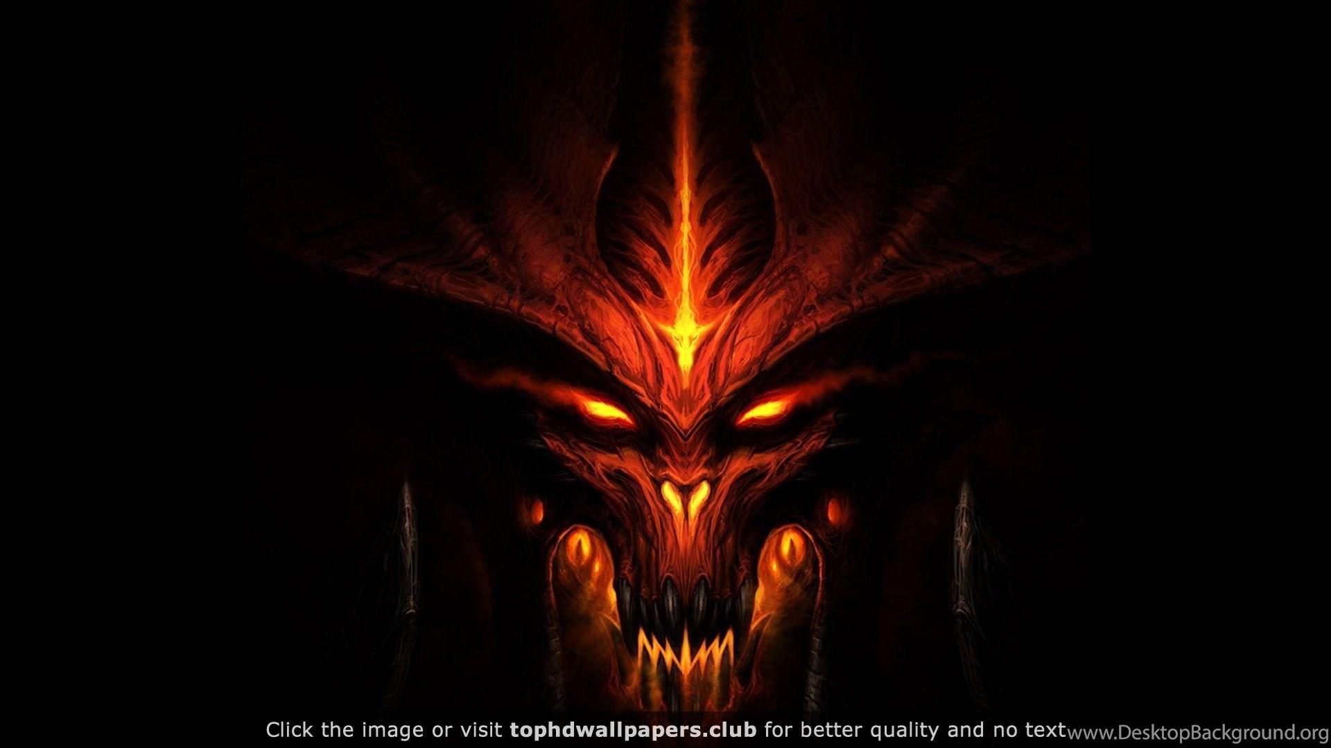 Diablo 3 Game Monster Mug Dark 4k Or Hd Wallpapers For Your