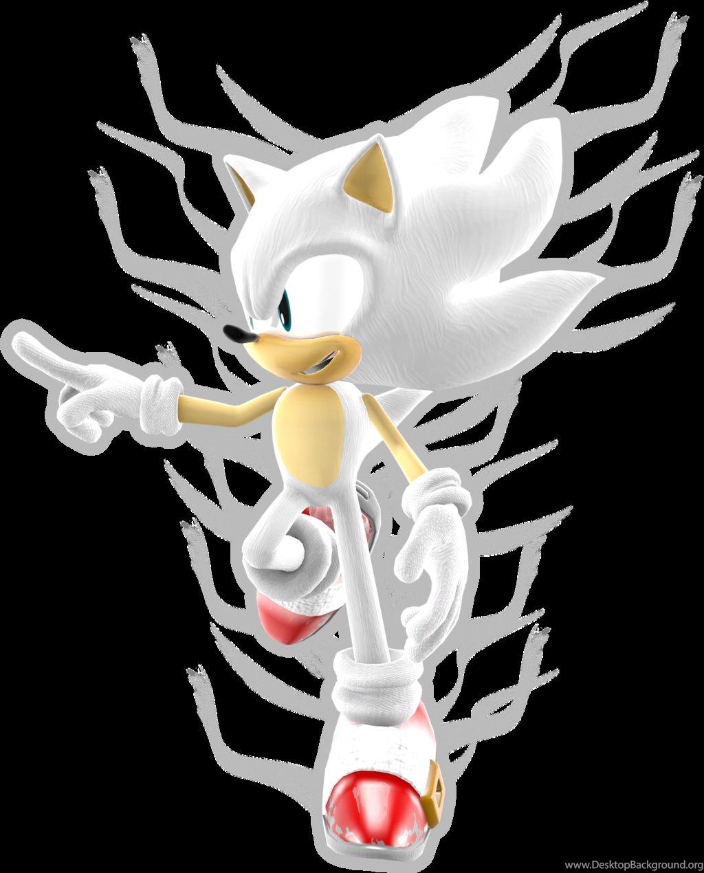 Hyper Sonic The Hedgehog By Super Fox Layer100 On Deviantart Desktop Background