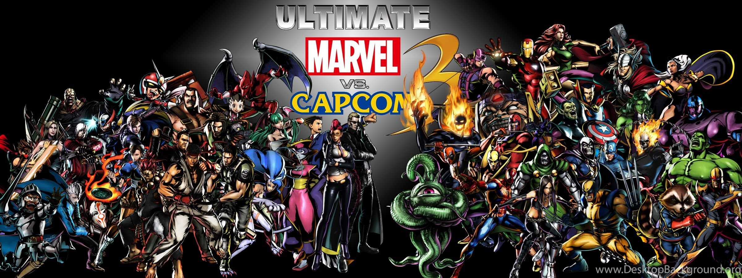 Umvc3 Ultimate Marvel Vs Capcom 3 Wallpapers By Dmn666 On