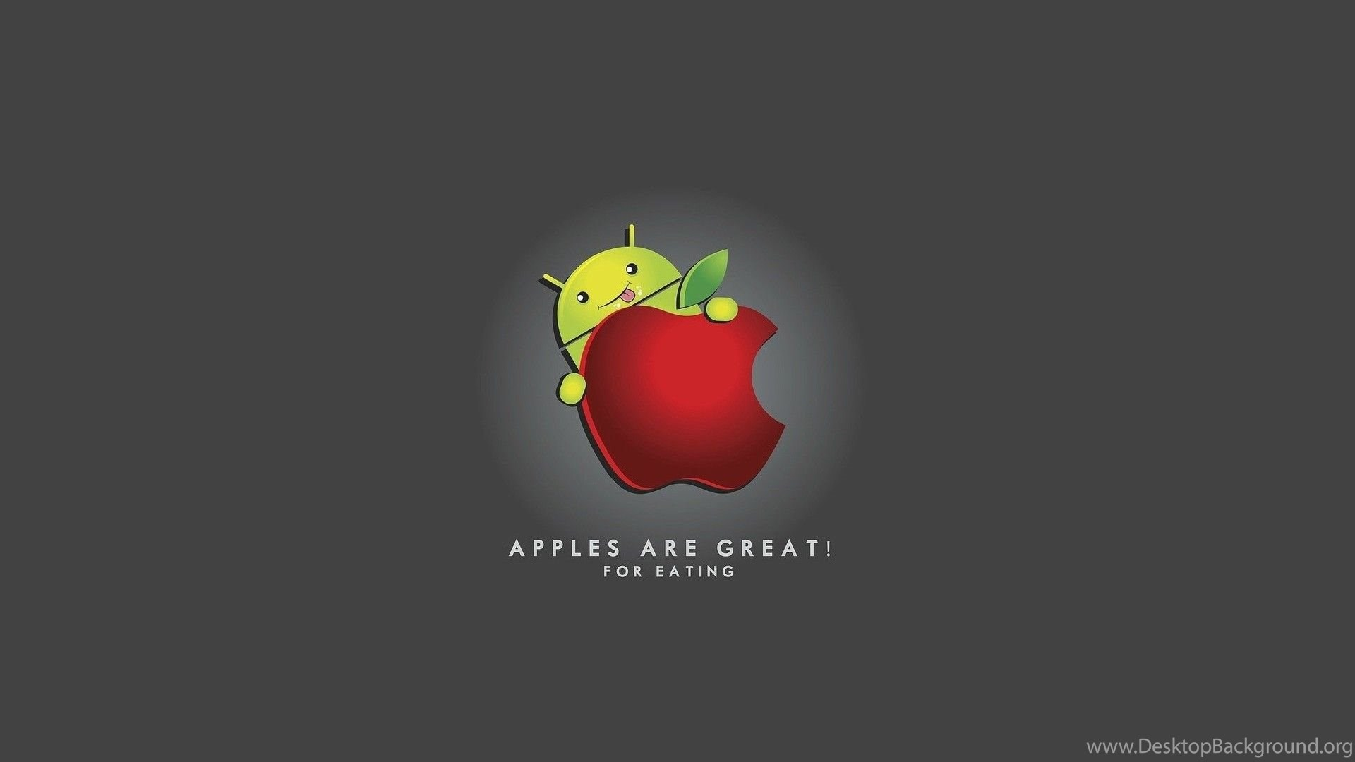 Apple Android Logo Funny Free Wallpapers For HD 169 High