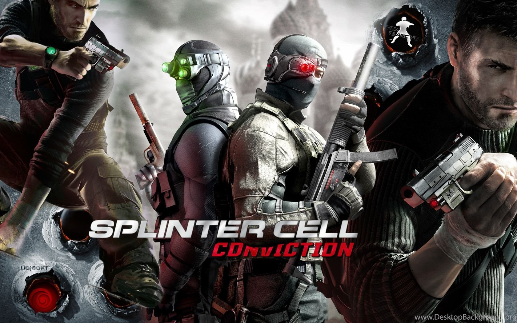 tom clancy's splinter cell: conviction computer wallpapers