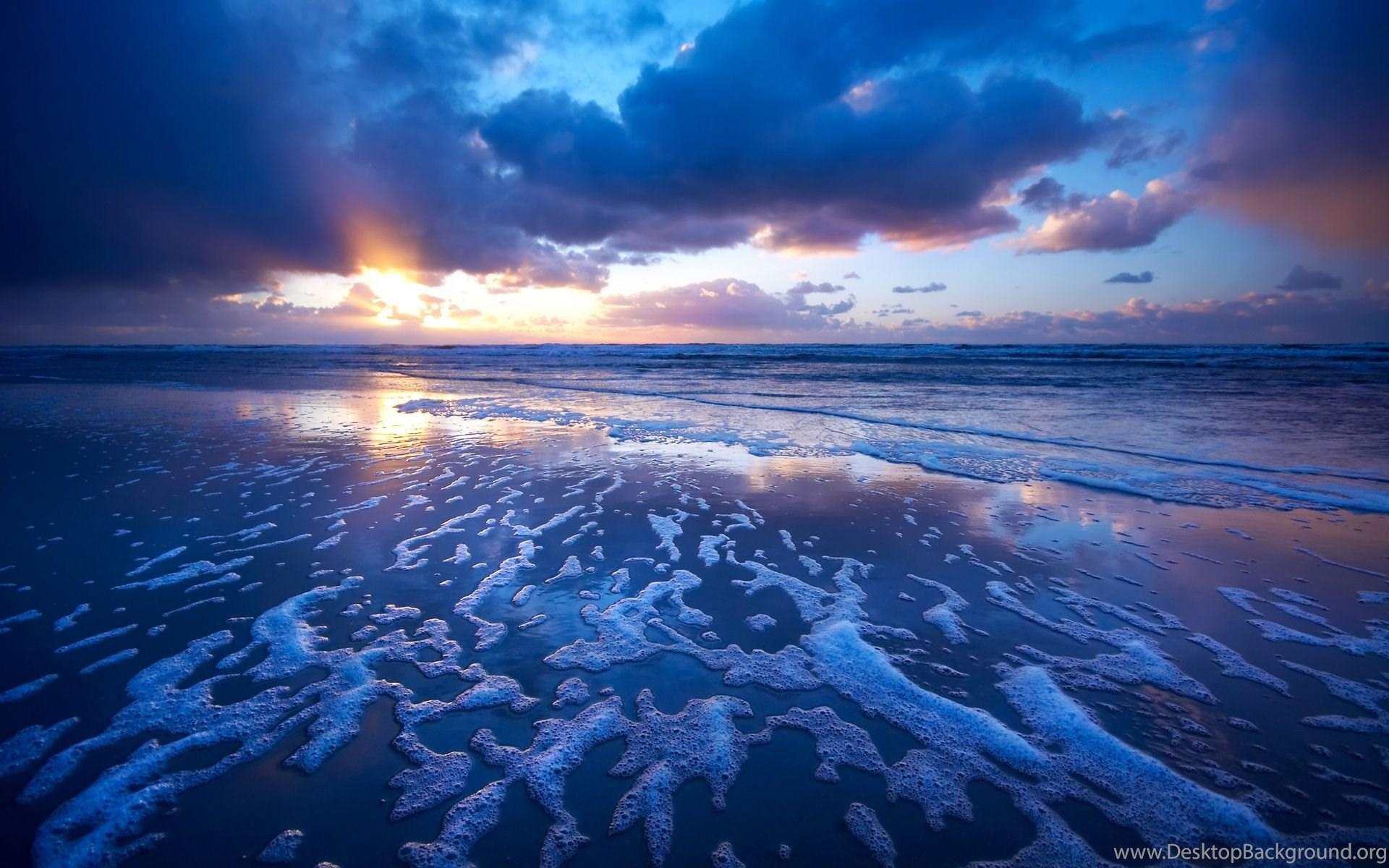 download beach waves wallpapers hd desktop background