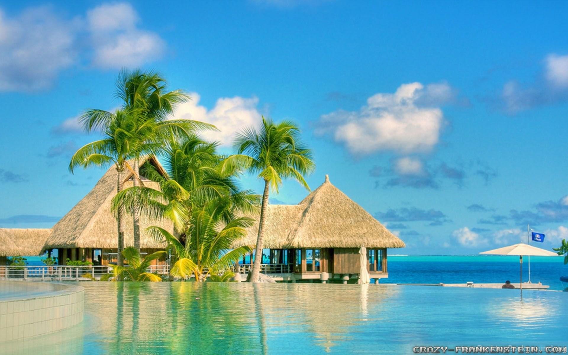 Travel Wallpapers Hd 1366x768: Beautiful Summer Screensavers Wallpapers Desktop Background
