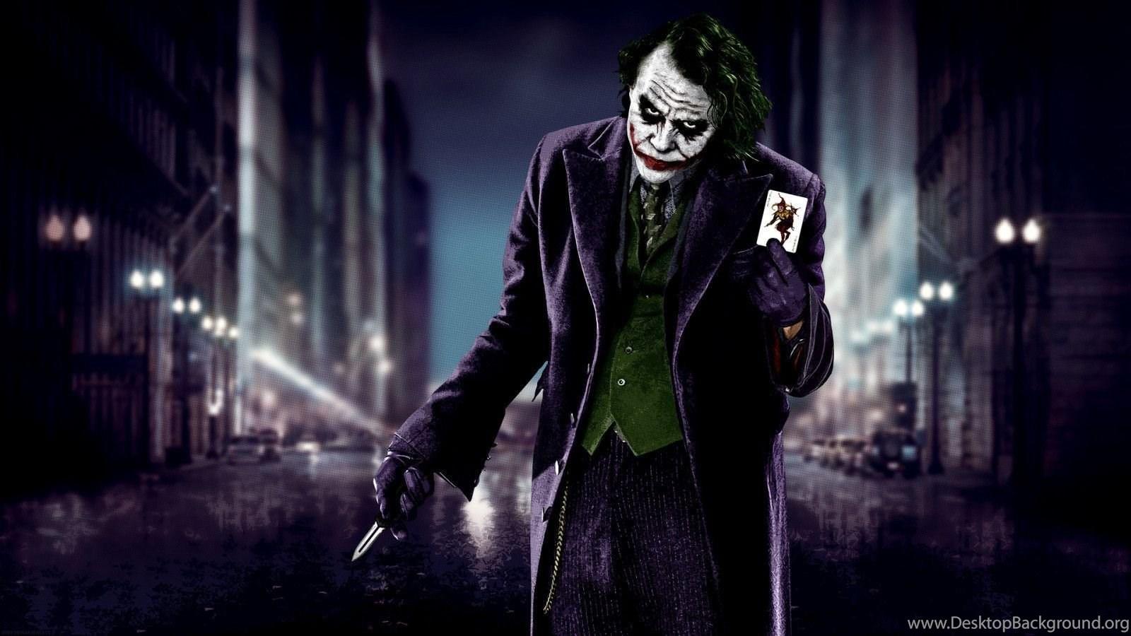 The Dark Knight Joker Wallpapers Wallpapers Cave Desktop Background