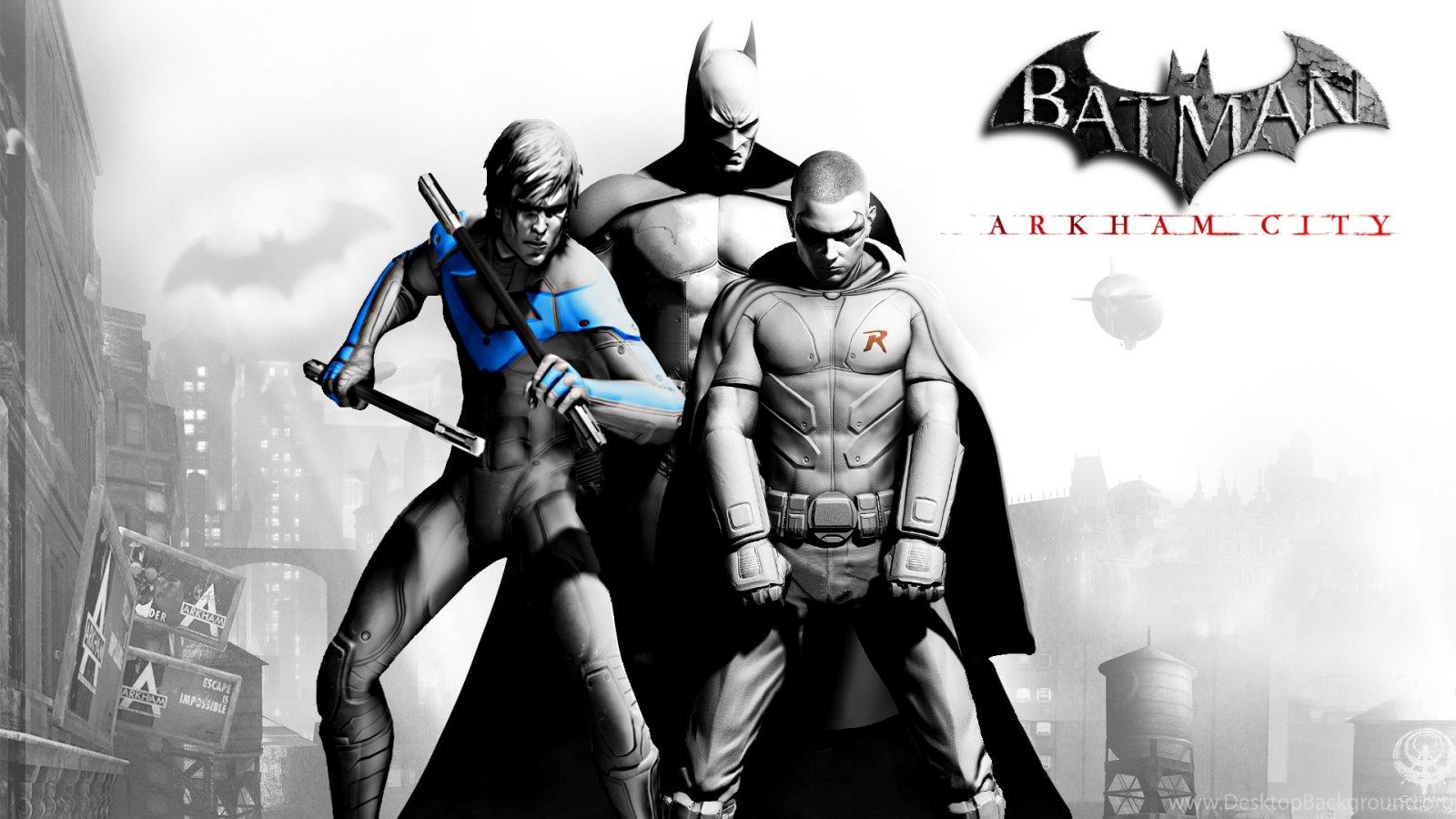 Gallery For Batman Arkham City Nightwing Wallpapers Desktop Background