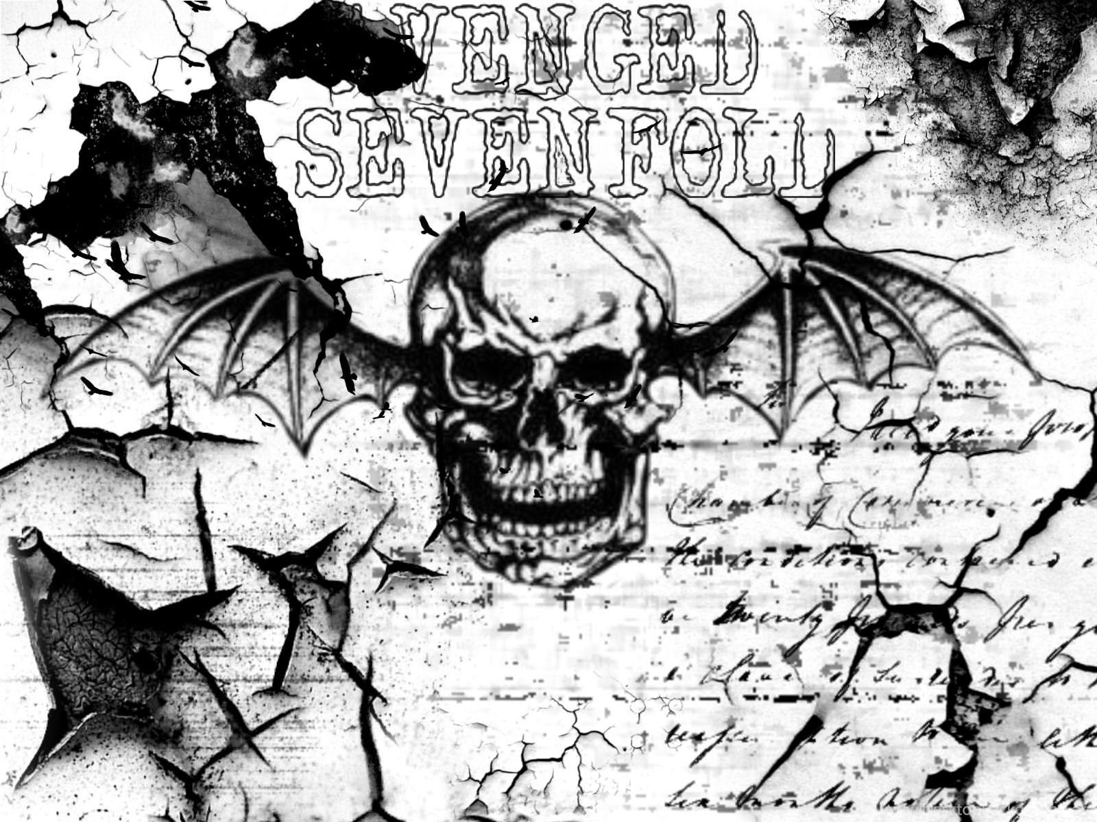 Avenged Sevenfold Deathbat Wallpapers Free 2kb Wallpey Desktop