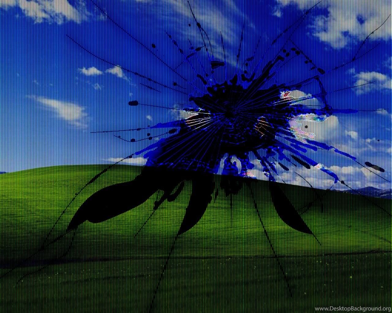 10330 Windows 7 Broken Screen Widescreen Hd Wallpapers Attachment