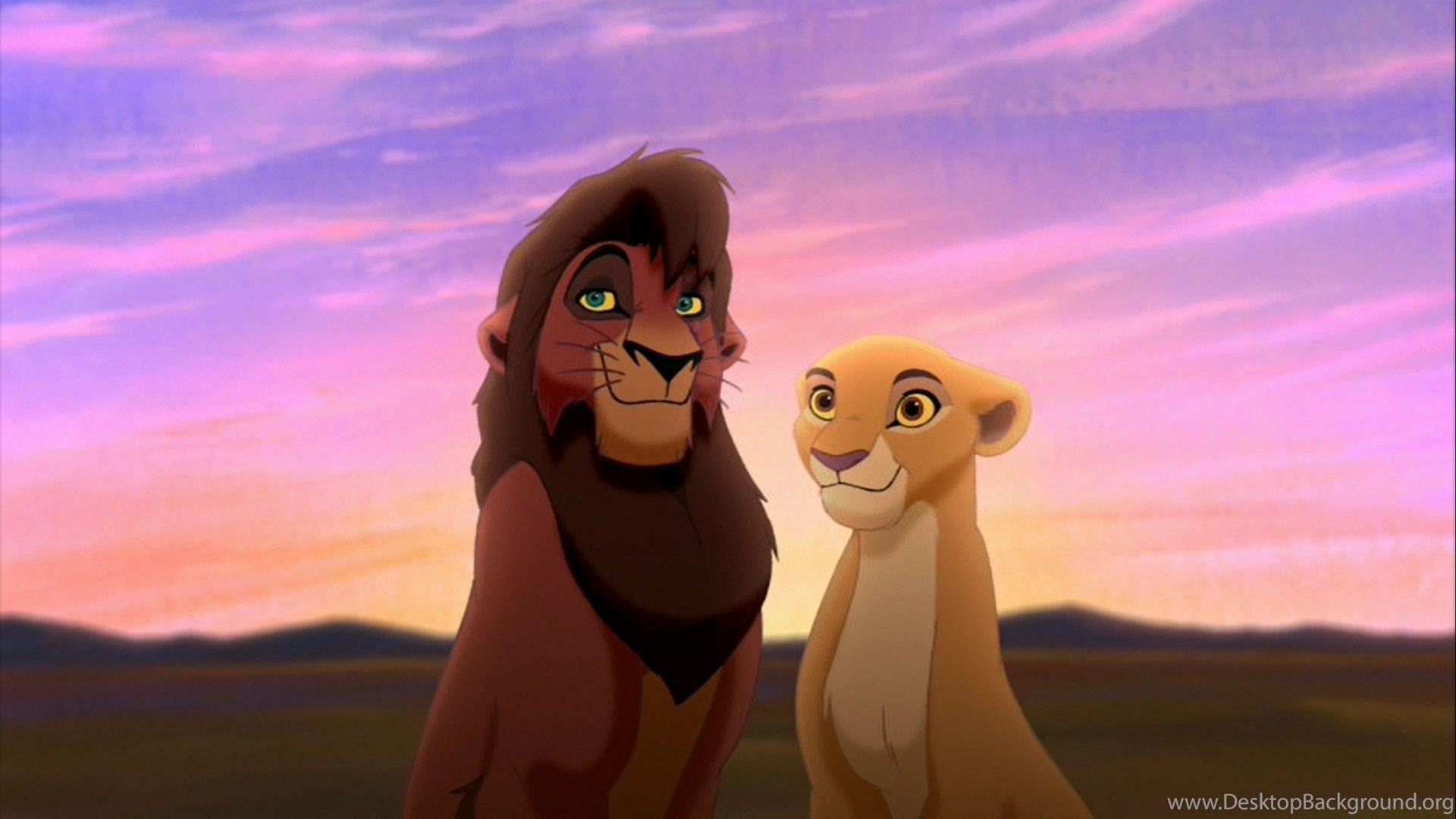 kovu and kiara hd wallpapers the lion king wallpapers (28009873