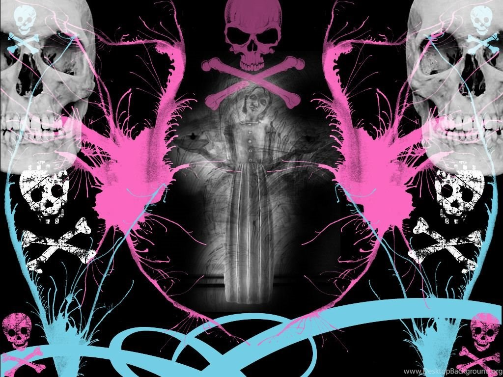 Cool Skull Wallpapers For Girls More Like Skull Wallpaper By