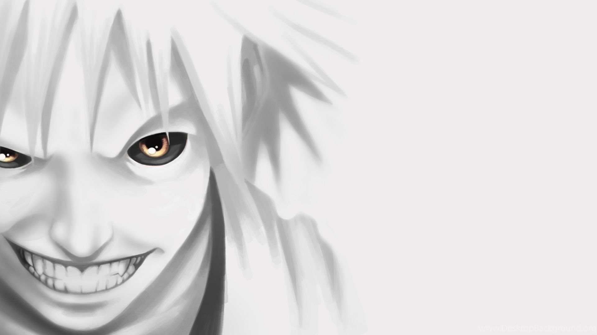 Wallpaper Fangs Anime Boy Teeth Anger Evil Wallpapers Desktop Background