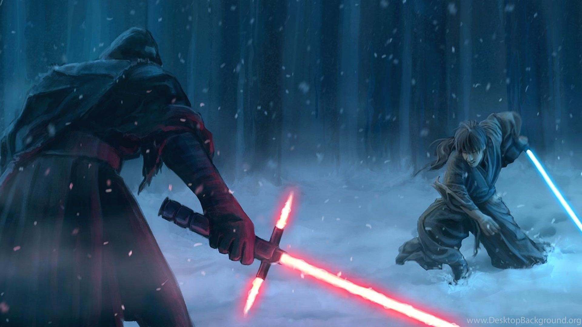 star wars sith vs jedi wallpapers – free full hd wallpapers for