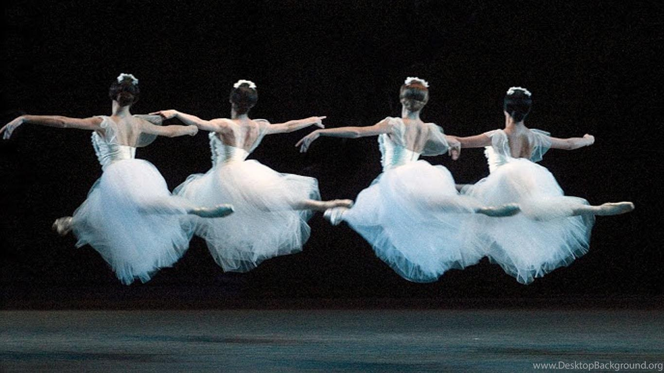 Beautiful Ballet Desktop Background