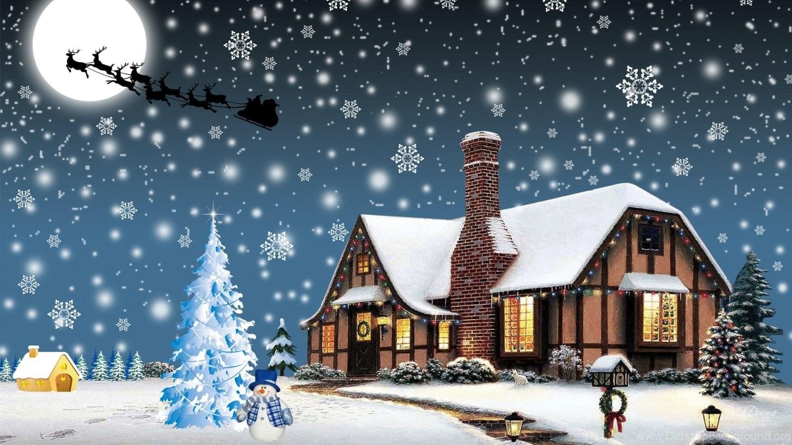Free Download Cute Christmas Wallpapers Hd Widescreen Desktop Background