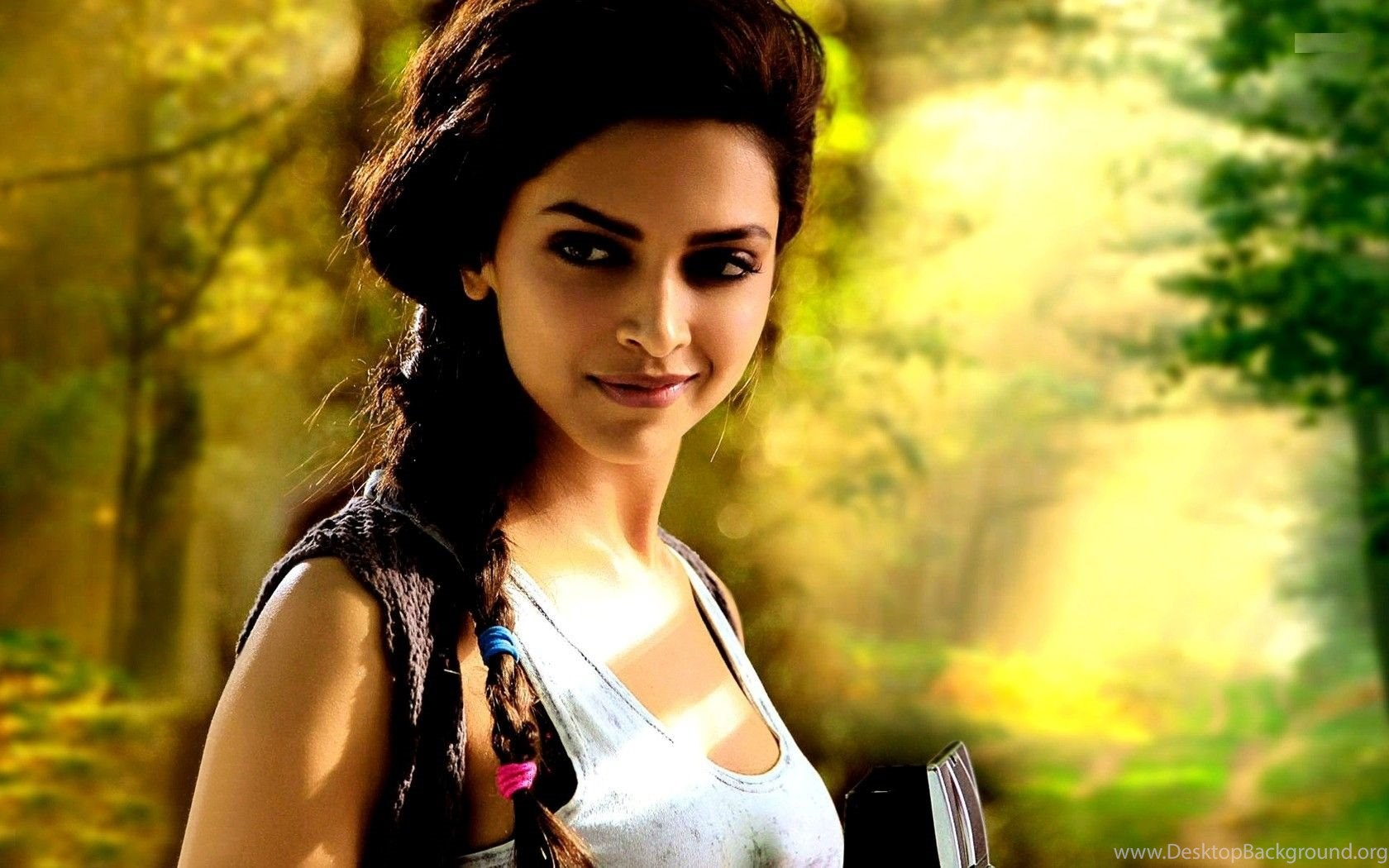 smile and cute face of bollywood actress deepika padukone hd photo