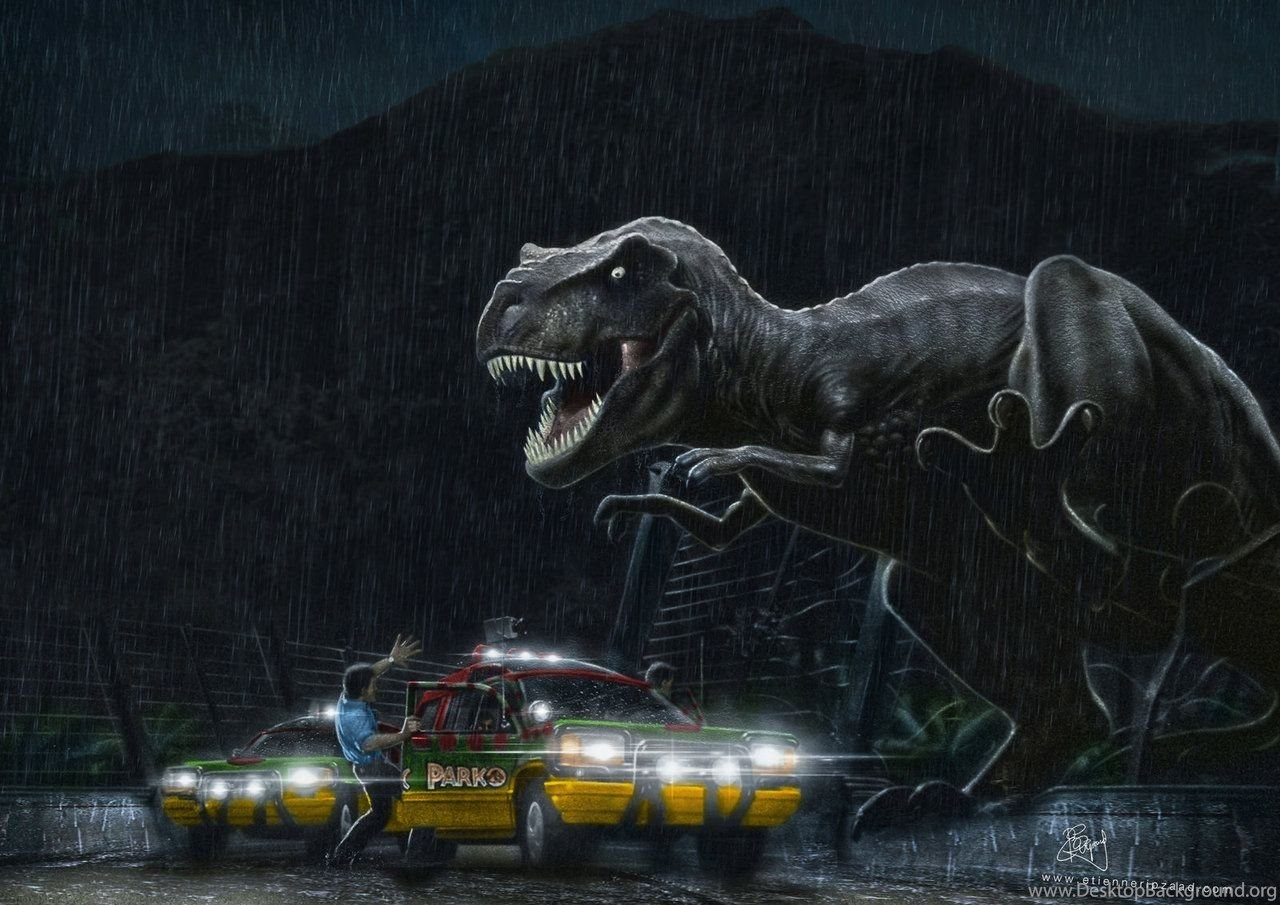 Jurassic Park Cast Wallpaper Desktop Background