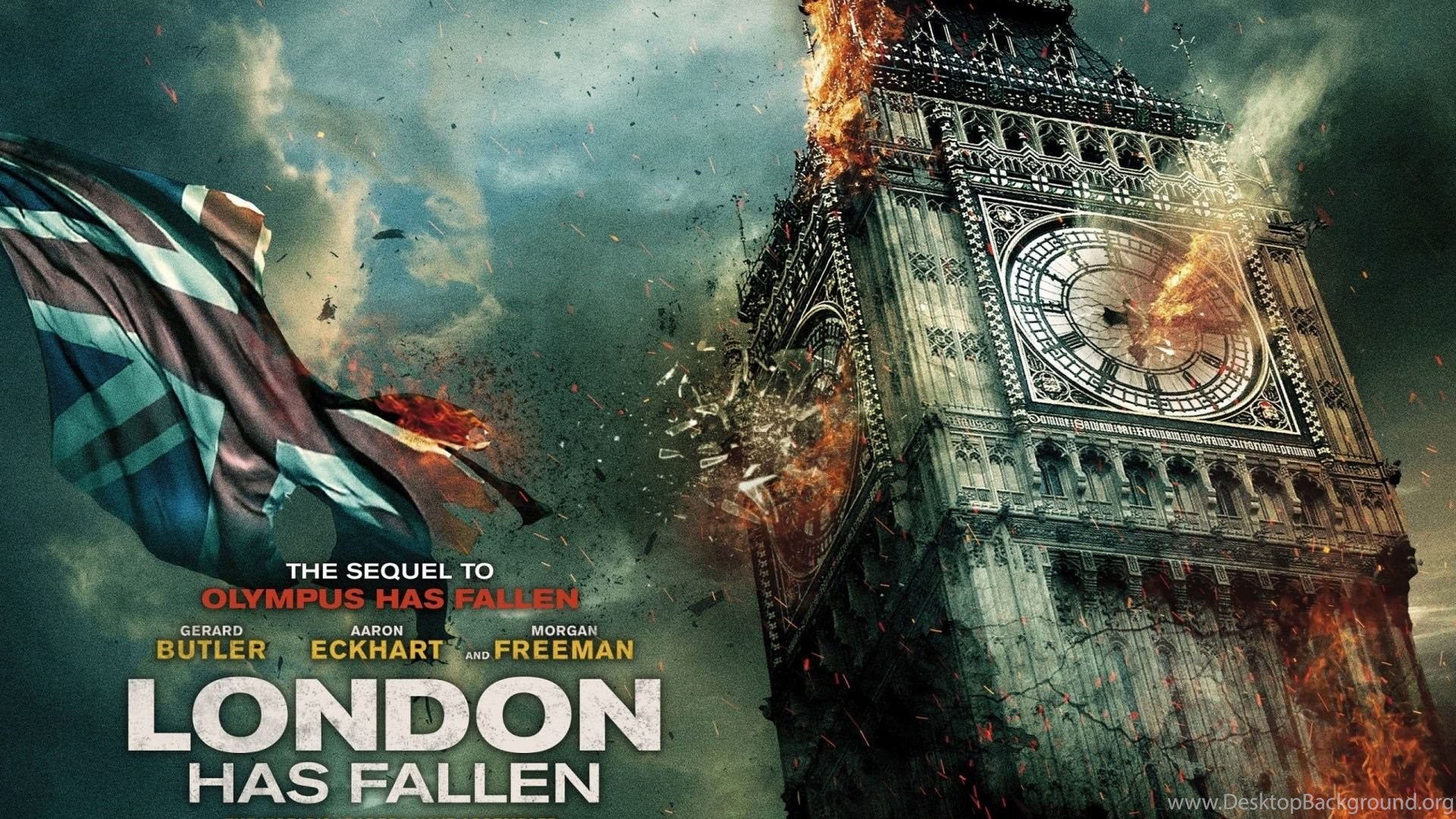 London Has Fallen 2015 Movie Poster Wallpapers Dreamlovewallpapers